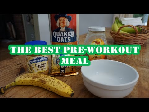 The Best Pre-Workout Meal | Full Recipe