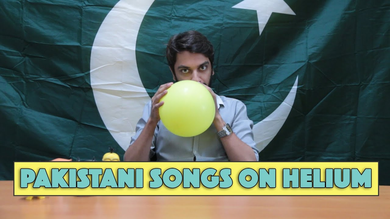 Pakistani Songs on Helium | MangoBaaz