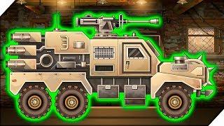 ВОЕННЫЕ ГРУЗОВИК ПРОТИВ ЗОМБИ - Андроид игра Earn to Die 3 # 10 Машинки и зомби