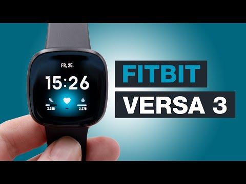 Fitbit Versa 3 Smartwatch im Test - Optimiere dir dein Alltag ganz einfach! - (review) - Testventure