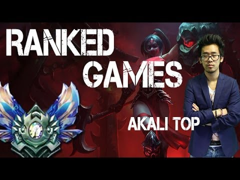 Akali Top - Ranked D1 - TYPICAL SNOWBALL GAME SALE ! - By DFG & LRB [Replay 19 Mai 2014]