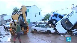 At least nine dead as flash floods hit Spanish island of Mallorca