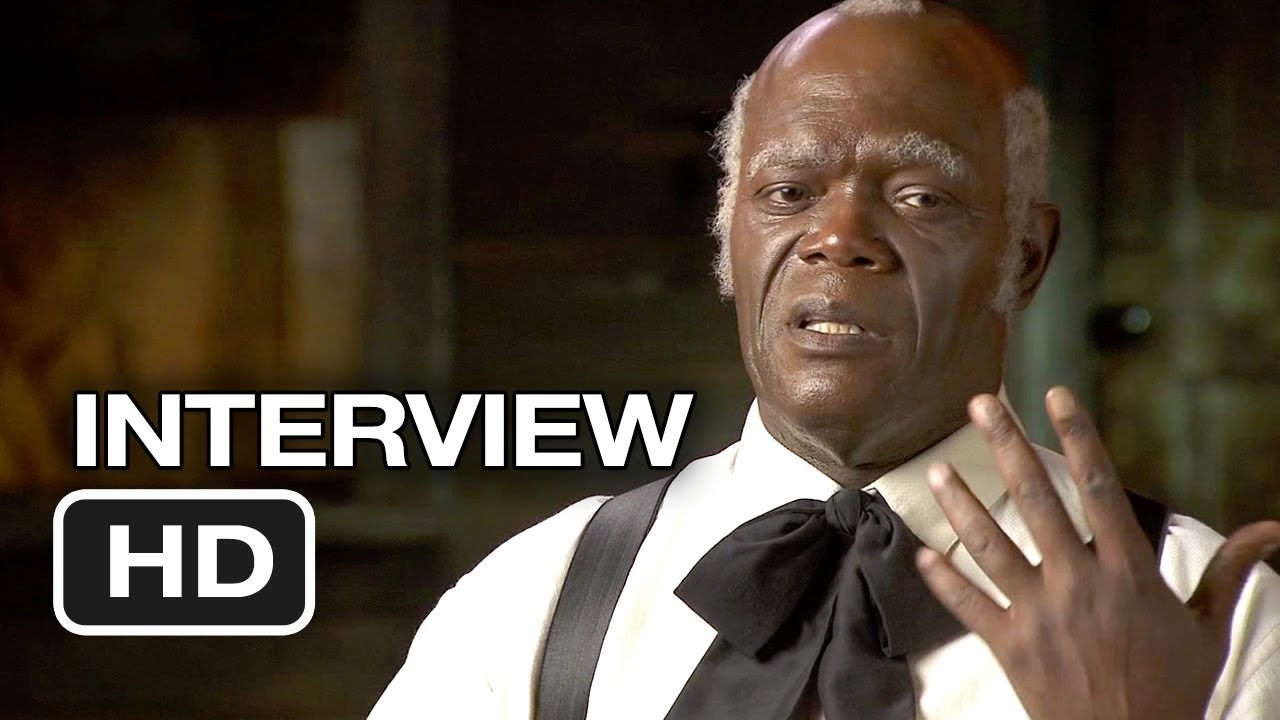 Django Unchained  Samuel L Jackson Interview 2012