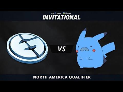 EG vs Pikachu Game 1 - SL-i Invitational: NA Qualifier Quarterfinals - @BreakyCPK @ZrRock