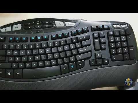 f60e6139eb4 Logitech MK570 Comfort Wave - YouTube