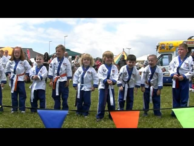 WMA LIttle PUMA's demo Bradley Stoke festival