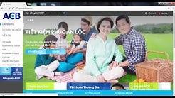 ACB online - Hướng dẫn sử dụng acb online
