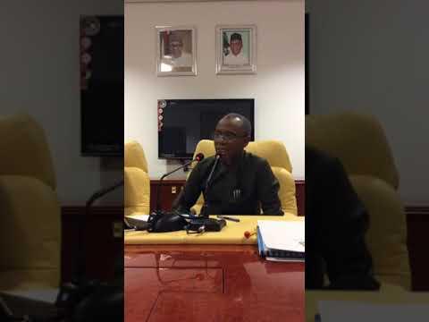 Watch Kaduna State Governor Elrufai's Live Media Chat