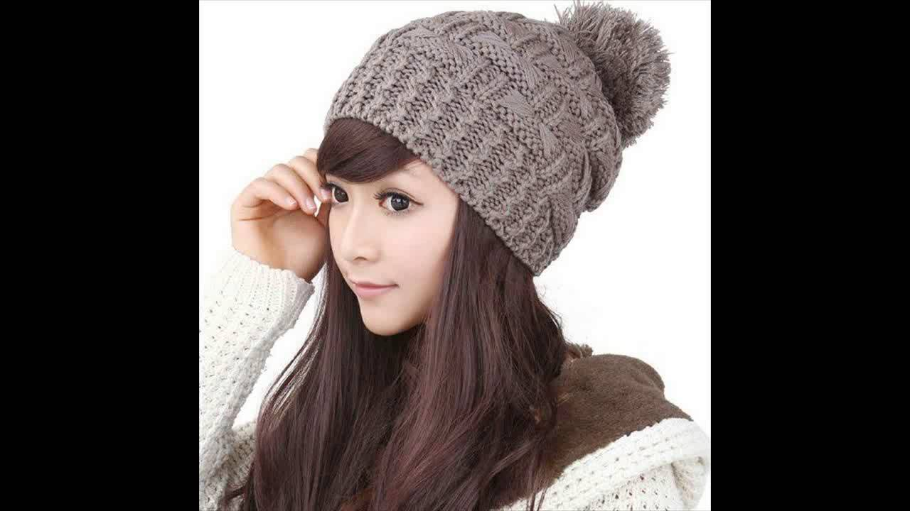 Fashion Of Winter Caps For Girls - YouTube ee13696ae56