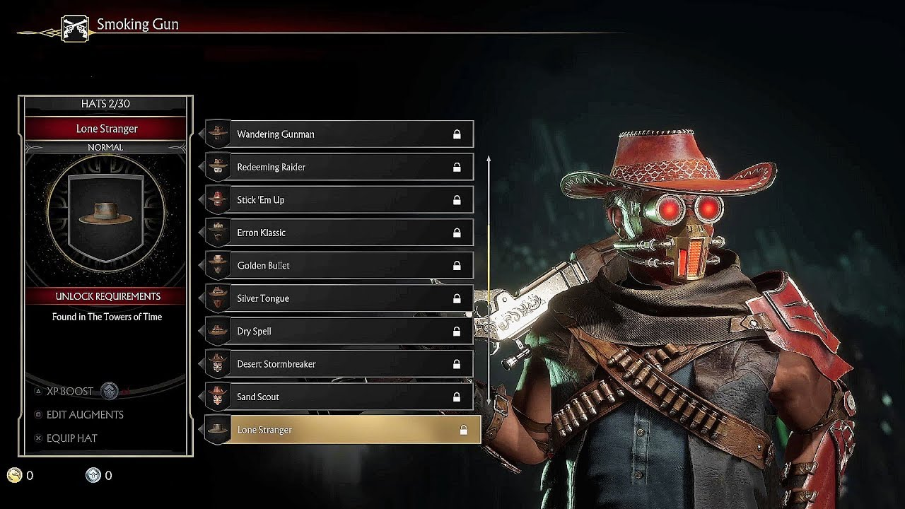 Mortal Kombat 11 Erron Black Hats & Masks