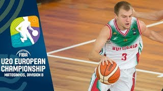 Finland v Bulgaria - Full Game - FIBA U20 European Championship Division B 2019