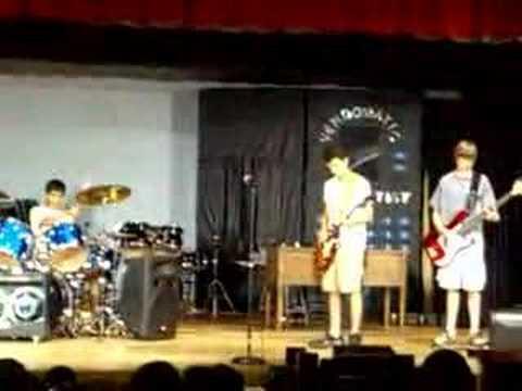 SLAPDASH, at a IAR talent show, June 20th