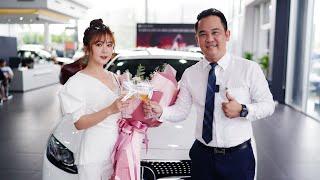 Hot Girl Ribi SaChi xinh như thiên thần trong ngày nhận xe mới