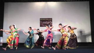 Bharatanatyam 2 - Rhythm India 2015 Bristol