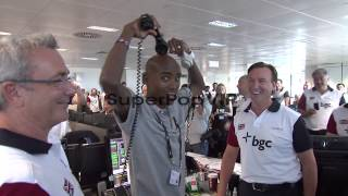 Mo Farah at BGC Annual Global Charity Day at BGC Partners...
