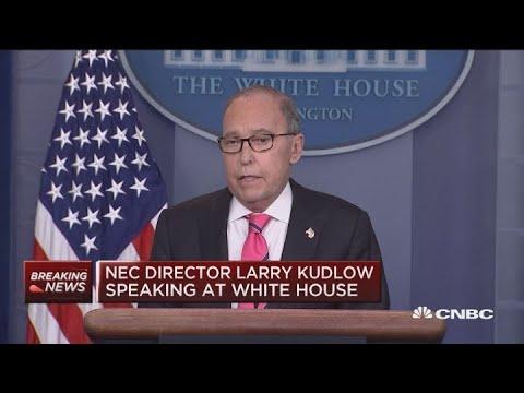 White House advisor Larry Kudlow on China trade talks