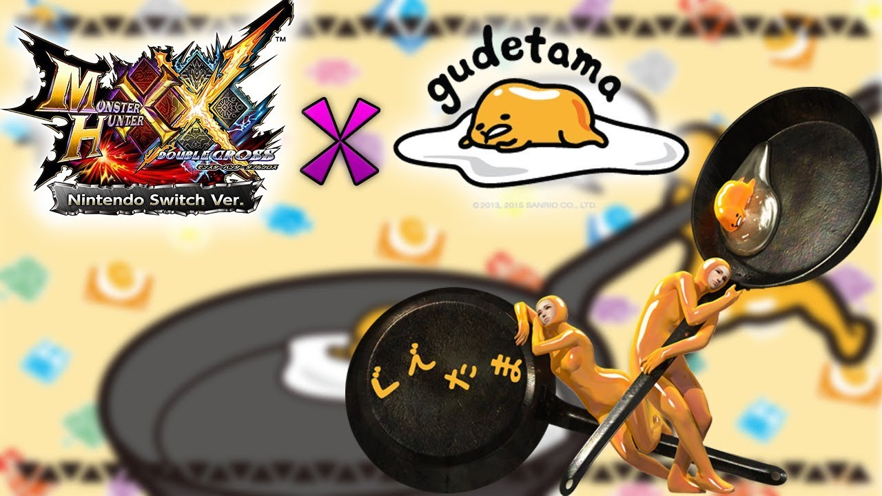 MHGU/MHXX x Gudetama (Event Quest)   How To Get Nisetama Armor And Gudetama  Hunting Horn!