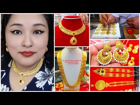 Latest Earrings Necklace Designs + Making Hamel from Scratch (Pure Gold 999.9) - VLOG #94