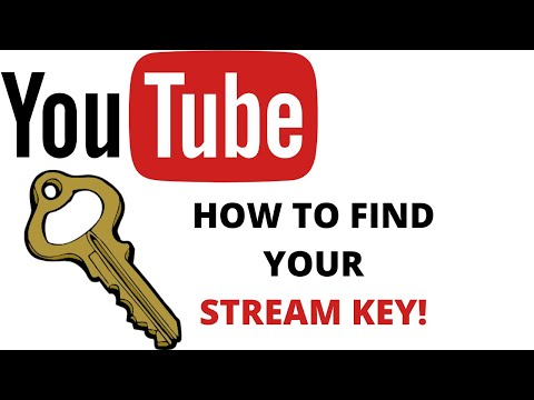 How To Find Your STREAM KEY On Youtube In 2020!