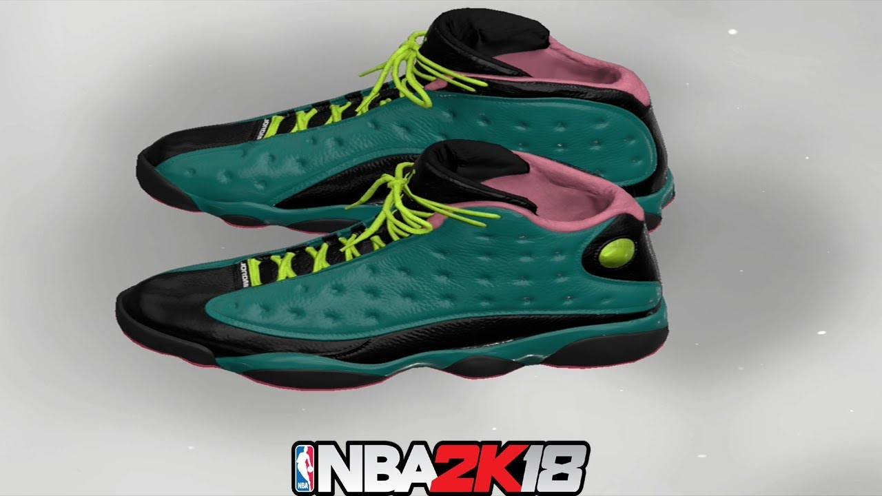 NBA 2K18 Shoe Creator ⋆#NBA2K18⋆ Jordan 13 Doernbecher
