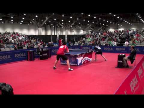 Timothy Wang vs Jeff Lin Huang Men's Singles Final
