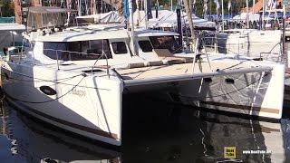 2015 Fountaine Pajot Helia 44 Catamaran - Walkaround - 2015 Annapolis Sail Boat Show