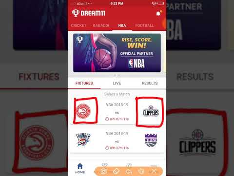 ATL VS LAC || MATCH 47 || NBA || DREAM 11 TEAM || ATLANTA HAWKS BASKETBALL CLUB VS LA CLIPPERS