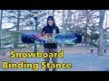 How To Set Up Snowboard Binding Stance Width & Angles