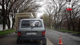 В Керчи начали снимать асфальт от ж/д вокзала до аэропорта