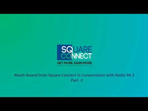 Square Connect interview with Radio 1 (94.3 FM)  (Good Morning Delhi)-2
