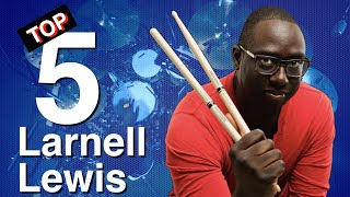 Top 5 Drum Moments | Larnell Lewis