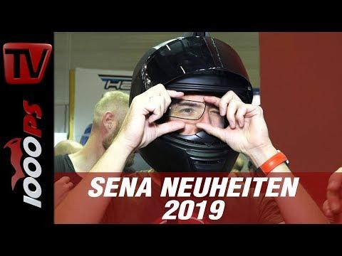 17.000 Euro Helm - SENA gibt Ausblick in die Zukunft - Neuheiten 2019