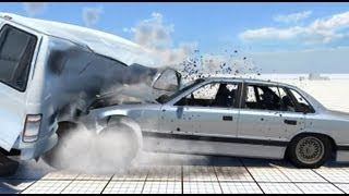 BeamNG DRIVE - Alpha Gameplay - Soft Body Physics [HD]