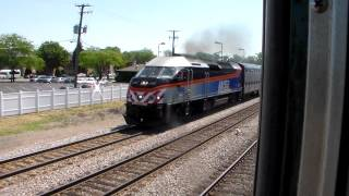MUST SEE! OB Metra gives EPIC HORN SHOW filmed from the CAB OF UP 1995!