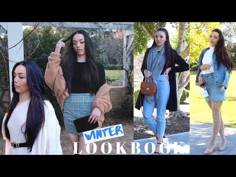 WINTER LOOKBOOK | 4 OUTFITS thumbnail