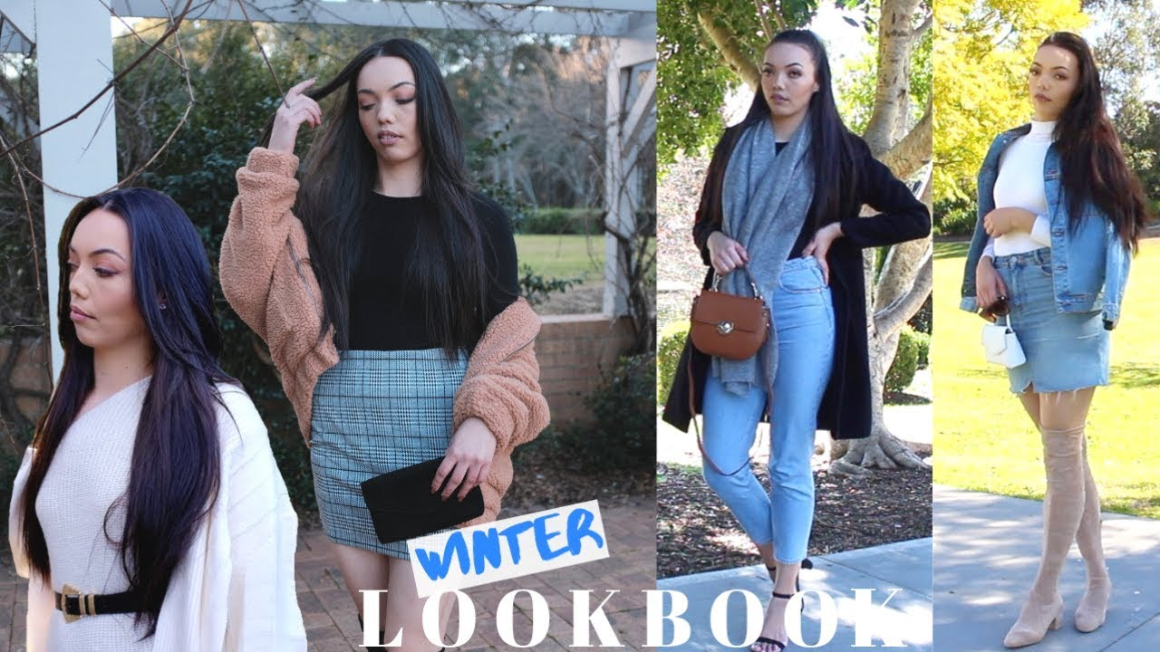 [VIDEO] - WINTER LOOKBOOK | 4 OUTFITS 7