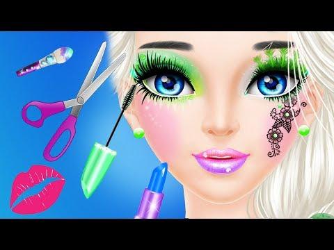 girl hair makeup dating games