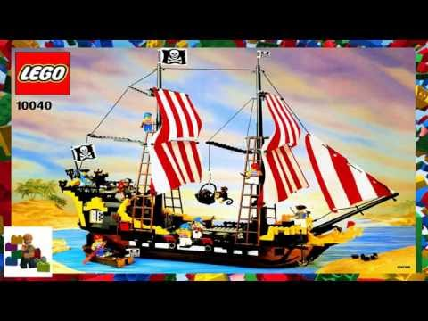 Lego Instructions Pirates 6285 Seas Barracuda Cars Collection