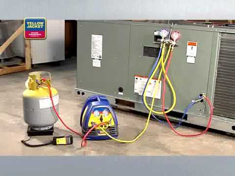 Yellow Jacket - Refrigerant Recovery - 2 | Aircovent Airconditioning En Koeltechniek | Instructie