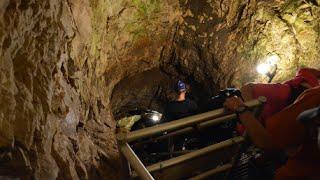 Visiting Sitting Bull Crystal Cavern 2015