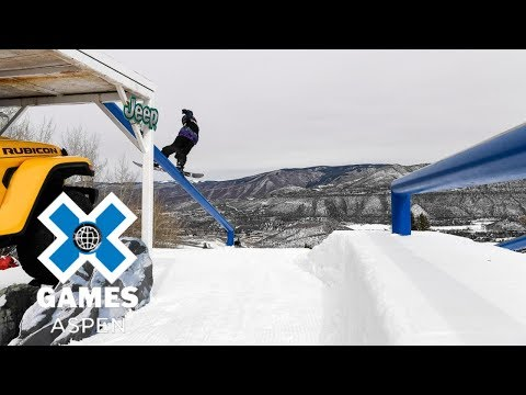 Marcus Kleveland wins Men's Snowboard Slopestyle gold | X Games Aspen 2018