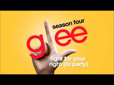 Fight For Your Right To Party  Glee HD Full Studio