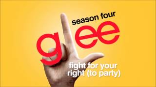 Fight For Your Right (To Party) - Glee [HD Full Studio]