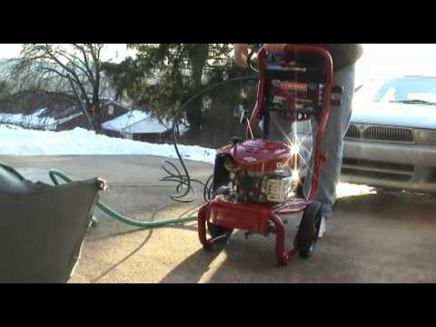 Craftsman Model 580 752192 Pressure Washer Youtube