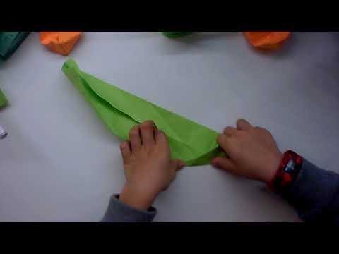Hunter origami fidget toy