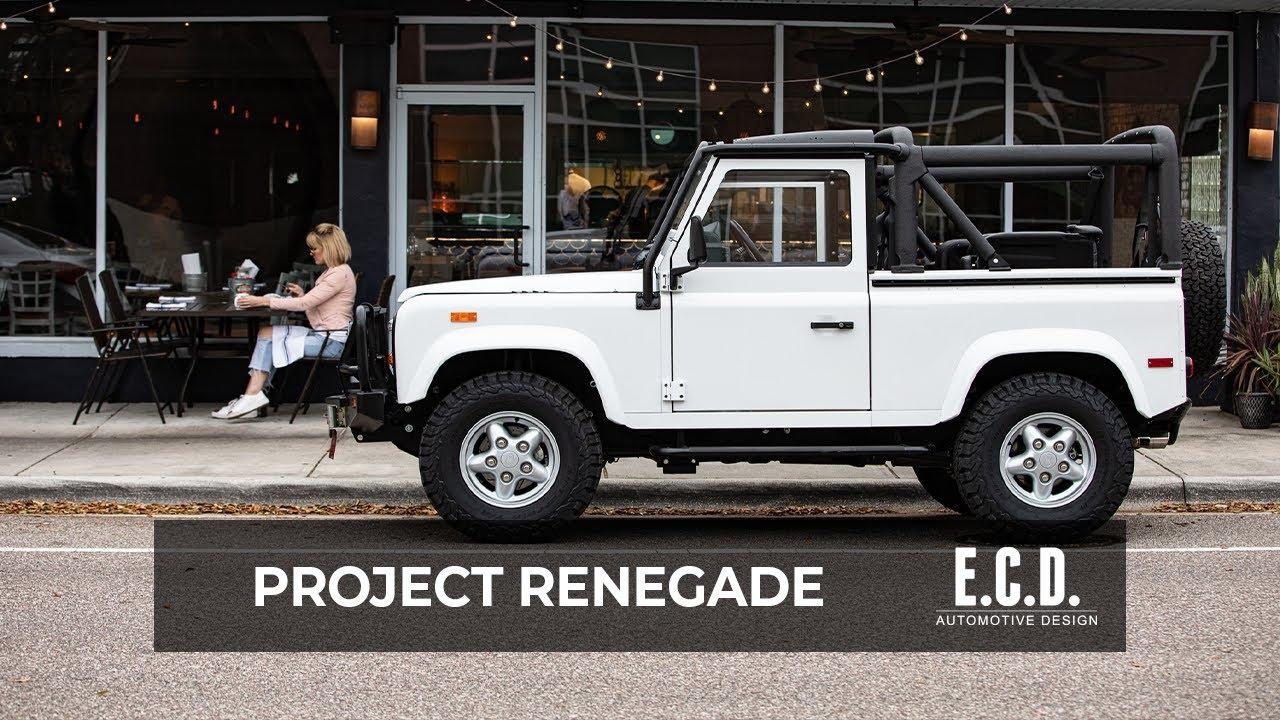 Fuji White D90 Restored With Modern Elements E C D Automotive Design Youtube