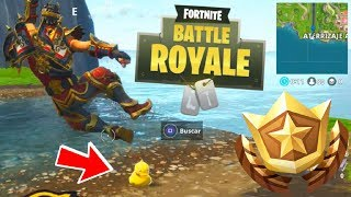Fortnite - Busca patitos de goma