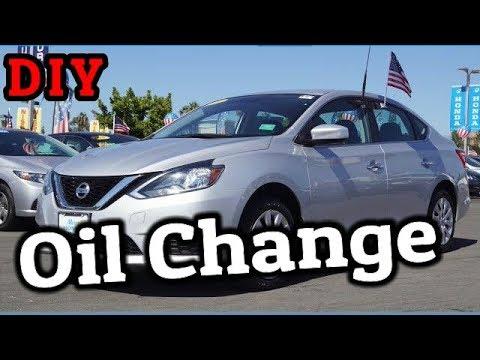 DIY Oil Change on the Nissan Sentra 2013-2017