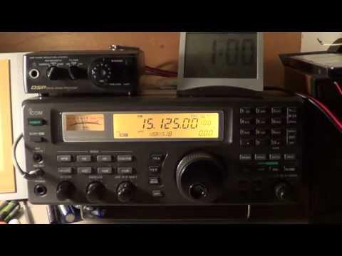 China radio International direct from Beijing 15125 Khz