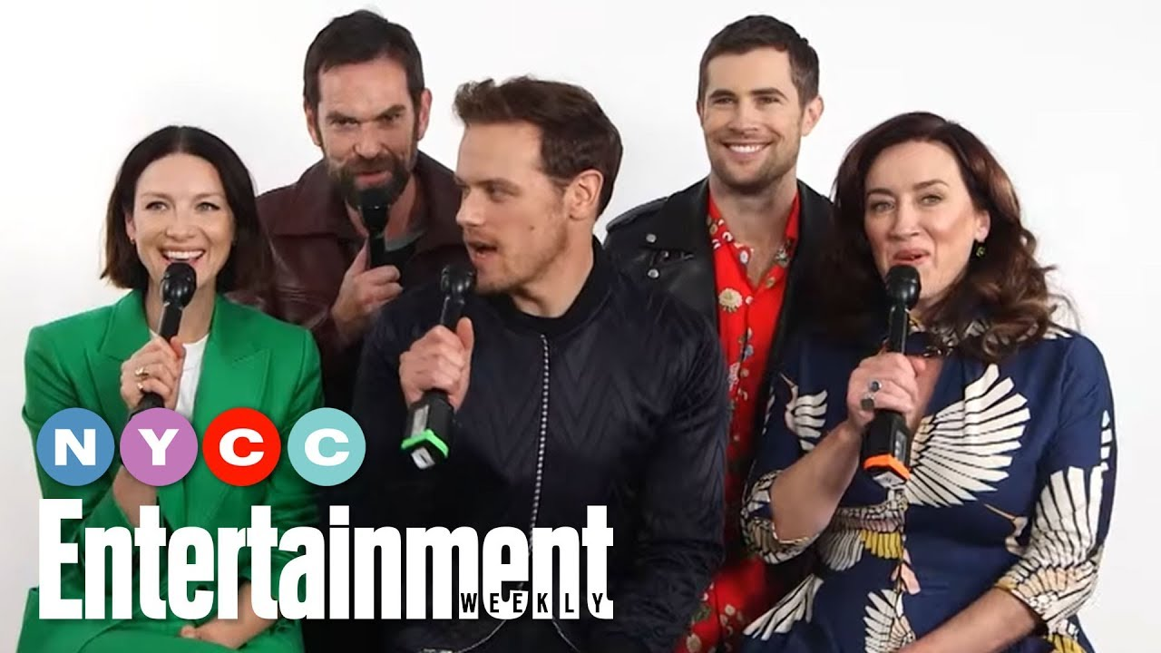 Outlander's Sam Heughan, Caitriona Balfe & More Tease New Season | #NYCC19 | Entertainment